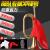 突撃号楽器の旧式の軍号はトロンボーンを吹きます。トート赤軍の道具ラッパの黄銅の大きさの歩号の大股号は315グラムです。音質がよくて、手袋+赤い布です。