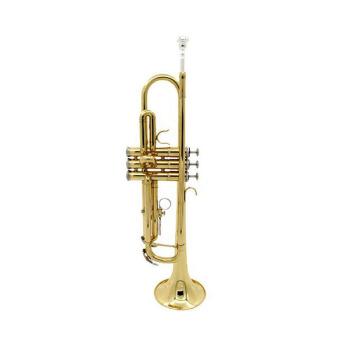 奇宝居楽器のニッケル製のトランペレット白トペレットを演奏します。