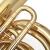 金音4 K平たい鍵盤の漆金大抱号の楽団は大きな抱号を使います。