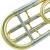 第二中音変節長号はBに下がり、F長調の楽器管楽器となる。